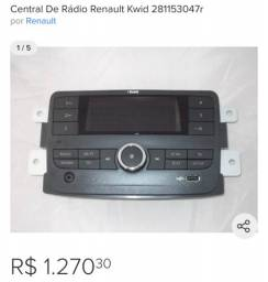 Central multimídia Kwid Zen original