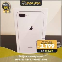 IPHONE 8 PLUS, 128GB, LACRADO, SUPER OFERTA