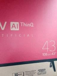 Smart TV 43 polegadas nova lacrada