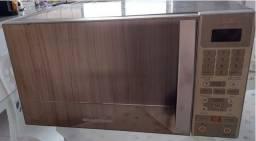Microondas em Inox Brastemp- Com defeito