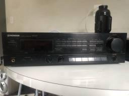 Receiver Pioneer SX 225 + Toca cd Philips