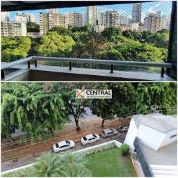 Apartamento com 3 dormitórios para alugar, 122 m² por R$ 2.400,00/mês - Chame-Chame - Salv