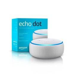 Alexa echo dot original com comando de voz