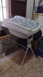 Banheira com trocador, pouco usado..