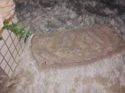 Cropped faixa rendado
