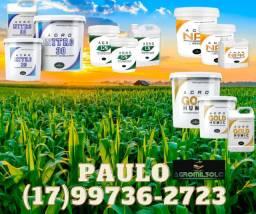 Adubo líquido para soja, milho, trigo, pastagem