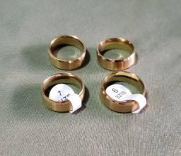 Conjunto Anéis Titânio