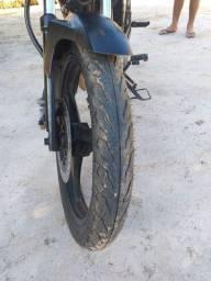 Moto YBR pronta pra rodar completa