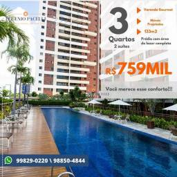 Apartamento com 3 dormitórios à venda, 133 m² por R$ 759.000,00 - Bairro dos Estados - Joã