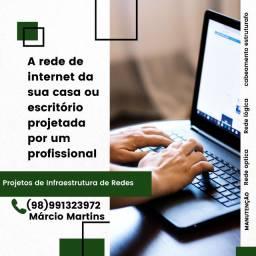Rede de internet empresarial