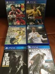 Jogos para PlayStation 4 seminovos perfeitos