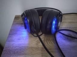 Headset Gamer Sharkoon SGH2 Led Azul USB<br><br>