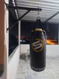 Saco de Boxe + Suporte + Enchimento