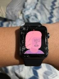 Apple Watch séries 3 42mm trincado