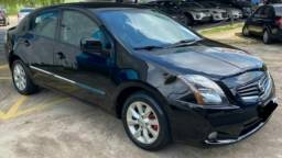 Nissan Sentra automático 2013 blindado.