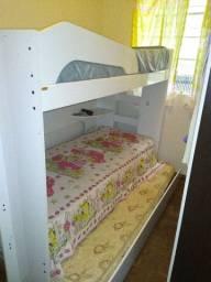 Beliche com cama embutida