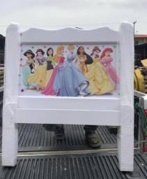 Cama Infantil em Madeira Maciça das Princesas #Entrega e Montagem Grátis