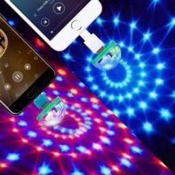 Mini discoteca para celular USB
