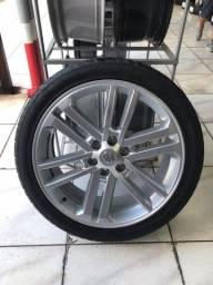 Jogo roda aro 22 Hilux com pneus
