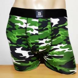 Kit com 03 cuecas boxer camufladas
