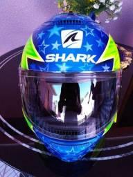 Capacete shark Spartan personalizado