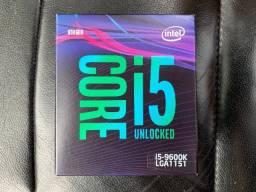 Processador intel i5 9600 k
