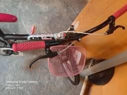 Bicicleta com nota fiscal e rodinhas