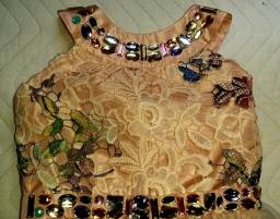 Vestido de festa menina