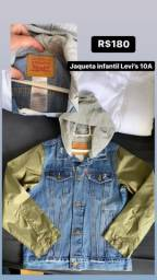 Jaqueta infantil Levi's 10A nova