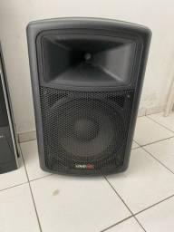 caixa de som loudvox lp121a