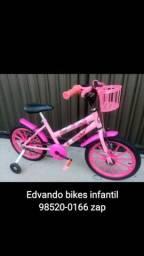 Bicicleta Aro16 de 3 até 6anos \ *