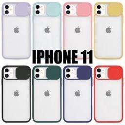 Capa Case Bumper Antichoque Transparente Iphone 11 Com Proteção