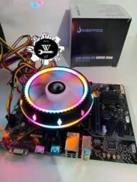 Air Cooler Processador Rise Mode RGB G200 AMD Intel