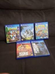 Jogos usados PS4