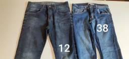 Calça Jeans inteiras