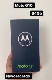Moto G10 64Gb aparelho novo lacrado