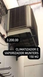 Climatizador e vaporizador Munters 150m2