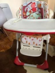 Cadeira de alimentação Polly 2 em 1 Chicco usada