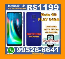 #/\/##/\/# Lançamento!!! Moto G9 play 64GB Nota Fiscal 94rngd#/\/'\/\#
