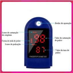 Oxímetro de Dedo - Teste de Dedo -  Frequência Cardíaca com Detecção de Pulso