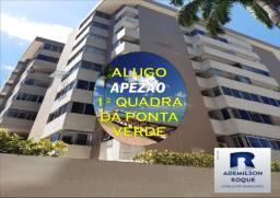 Alugo Apartamento na Ponta Verde - Nascente - 3/4 com DCE
