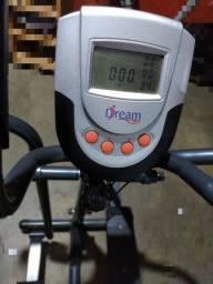 bicicleta ergométrica e elíptico magnético