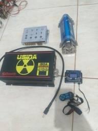 Usina 150 amp Crossover capacitor voltimetro