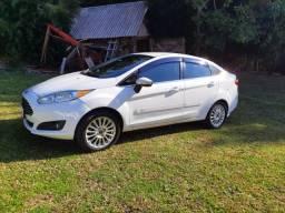 New Fiesta Titanium Sedan 1.6 2014 Aut. Carro Impecável