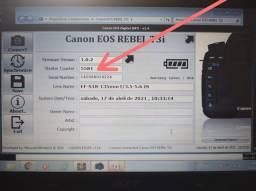 Câmera Canon EOS T3i