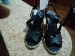 Sandália de couro