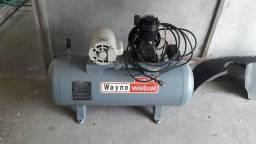 compressor 220/110v  semi novo 10pés