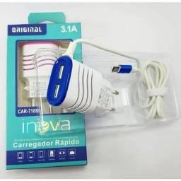 carregador para celular inova v8 e tipyc