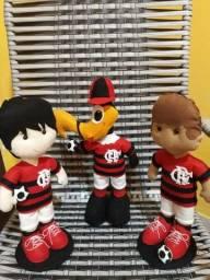 Vende se bonecos do Flamengo