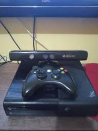 Xbox slim 360 semi novo